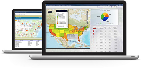 Esri Maps for IBM Cognos